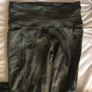 Athleta Dark Green Leggings
